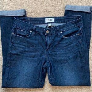 Paige Denim cropped jeans